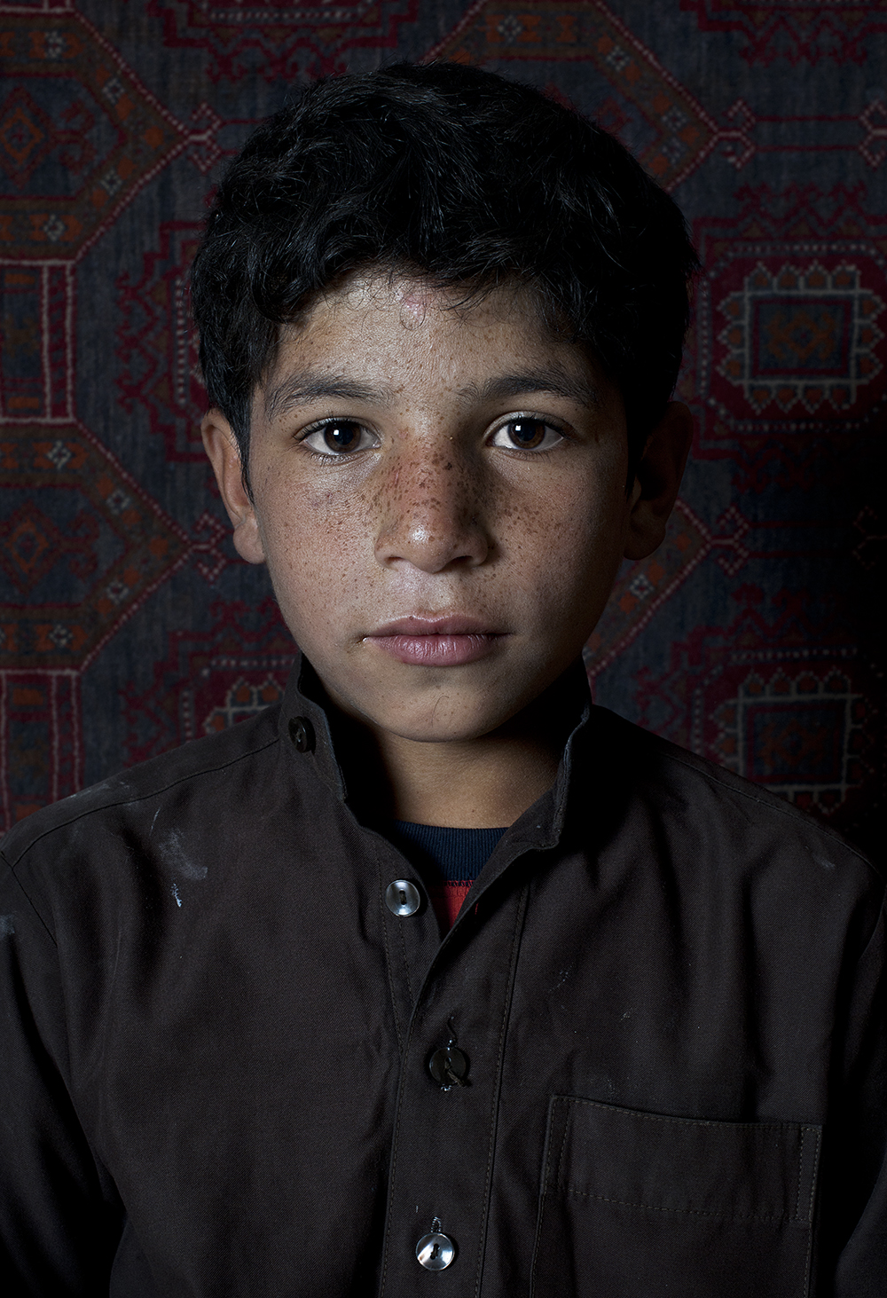 Faces of Kabul Bald Lessing