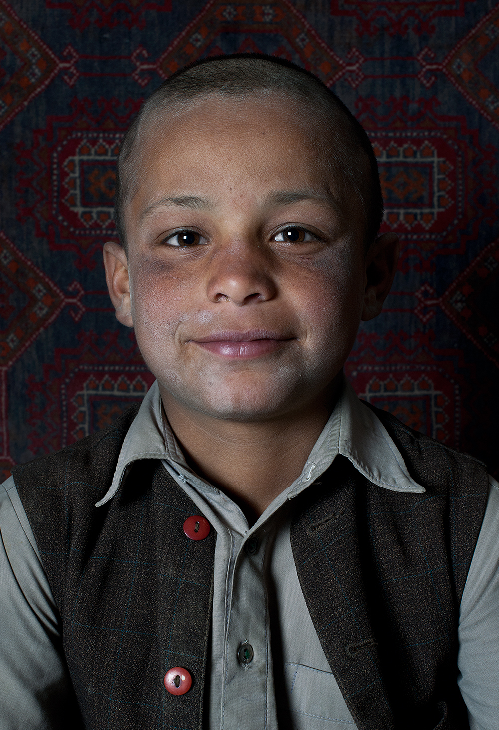 Faces of Kabul Kids