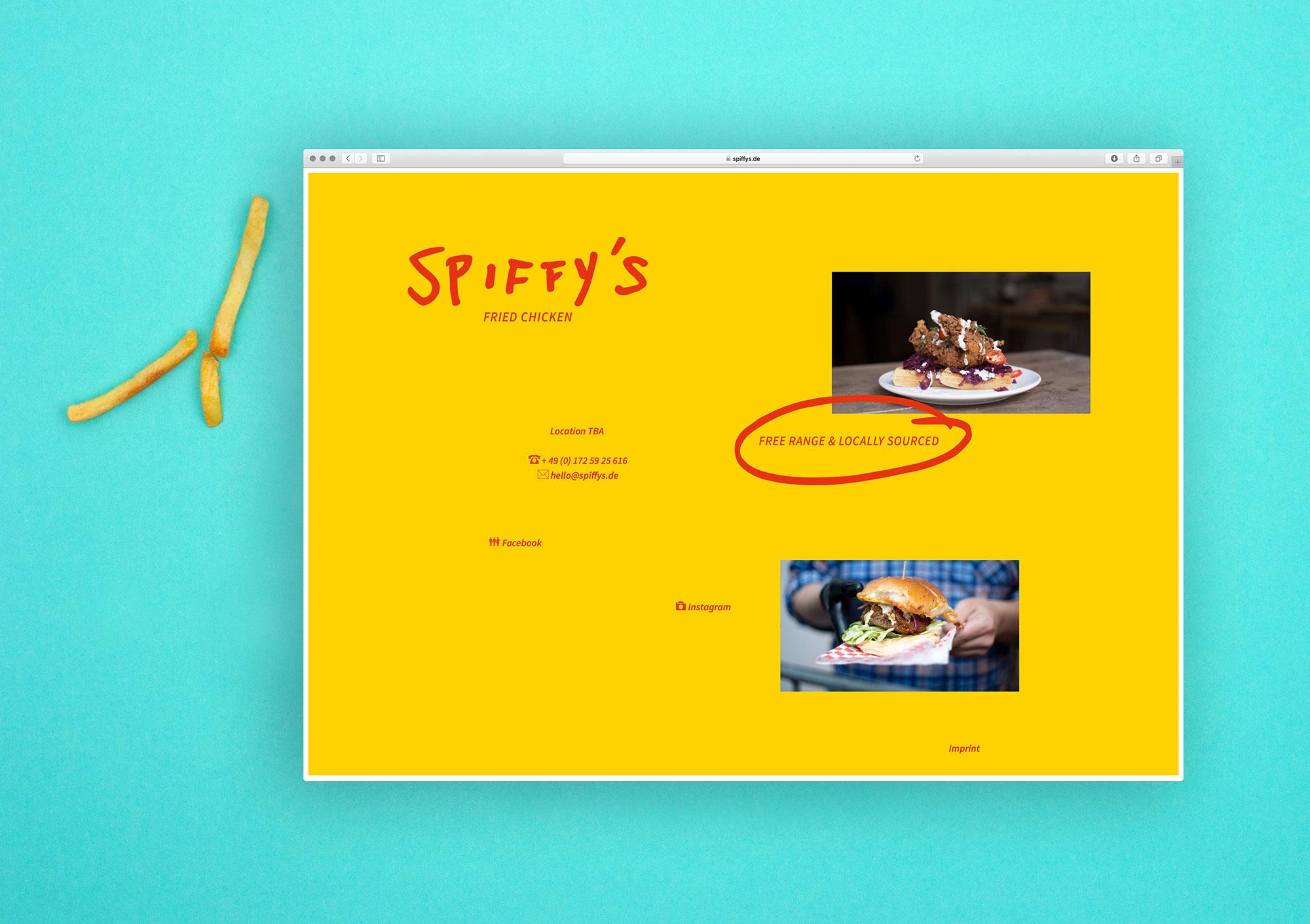 Spiffys website