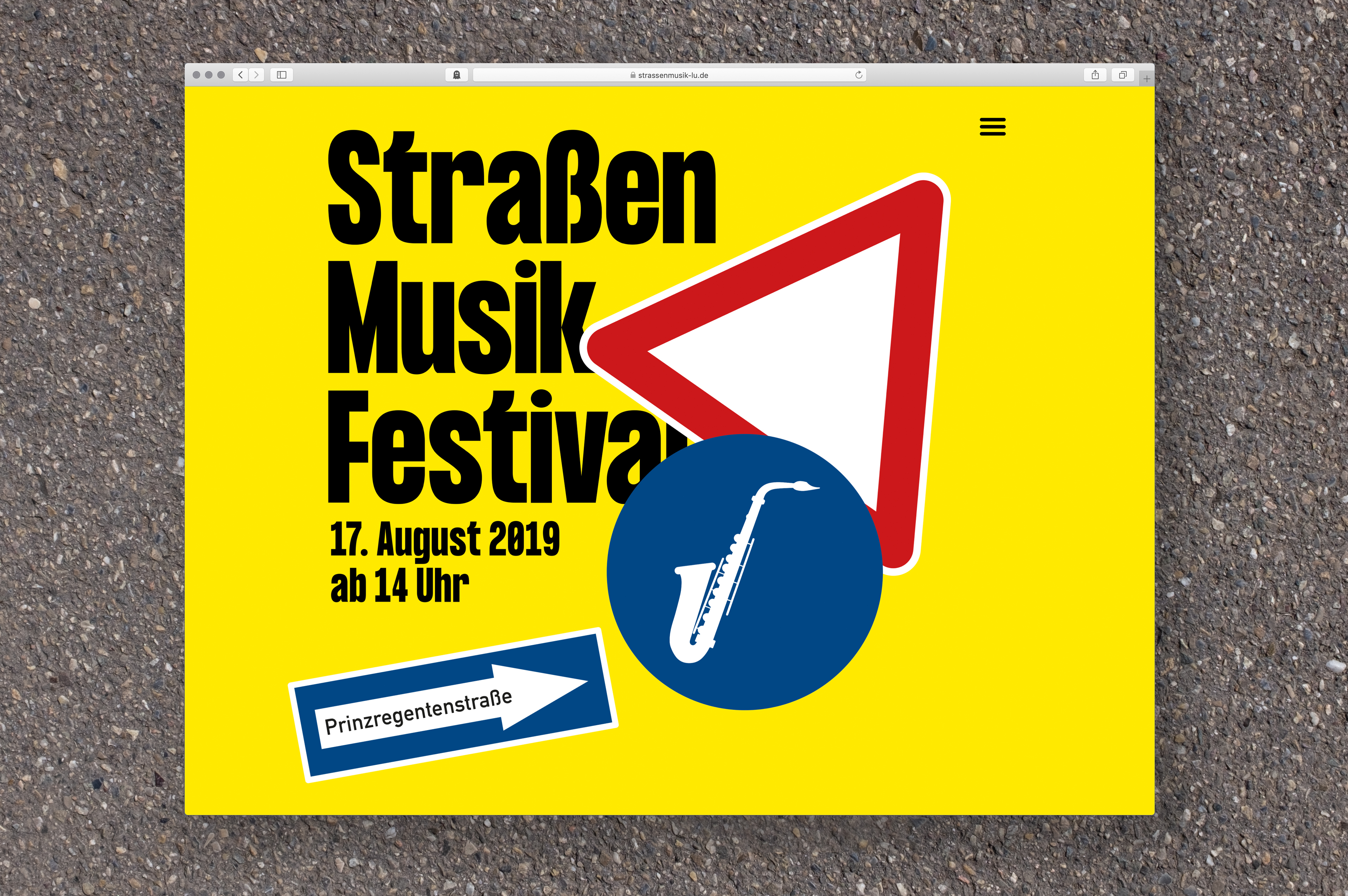 website Straßenmusikfestival