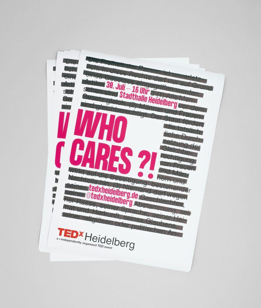 Plakate TEDx Heidelberg